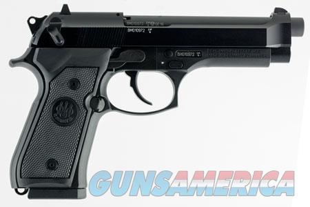 "Beretta USA J90A1M9F18 M9 22LR Single/Double 22 Long Rifle (LR) 5.3"" 10+1 Black Rubber Grip Black  Guns > Pistols > Beretta Pistols > M9"