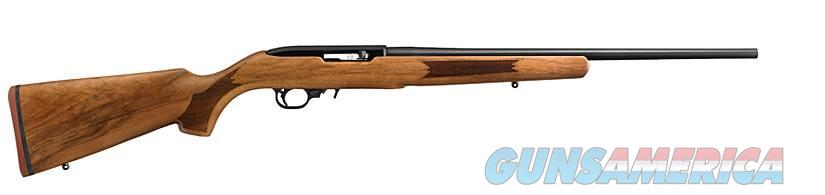 Ruger 10/22 22LR BL/FRENCH WALNUT 11165  20 BARREL/NO SIGHTS  Guns > Rifles > R Misc Rifles