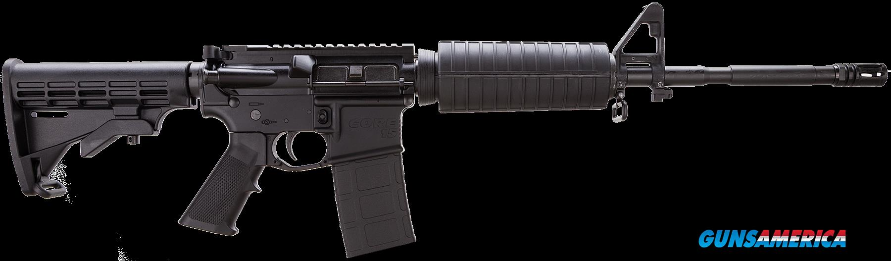"Core 15 Rifle Systems 100284 M4 AR-15 Base SA 223/5.56 16"" 30+1 6 Pos Stk Blk  Guns > Rifles > C Misc Rifles"