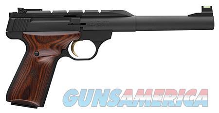"Browning 051499490 Buck Mark Hunter  22 LR 7.25"" 10+1 Black Aluminum Alloy Laminate Cocobolo  Guns > Pistols > Browning Pistols > Buckmark"