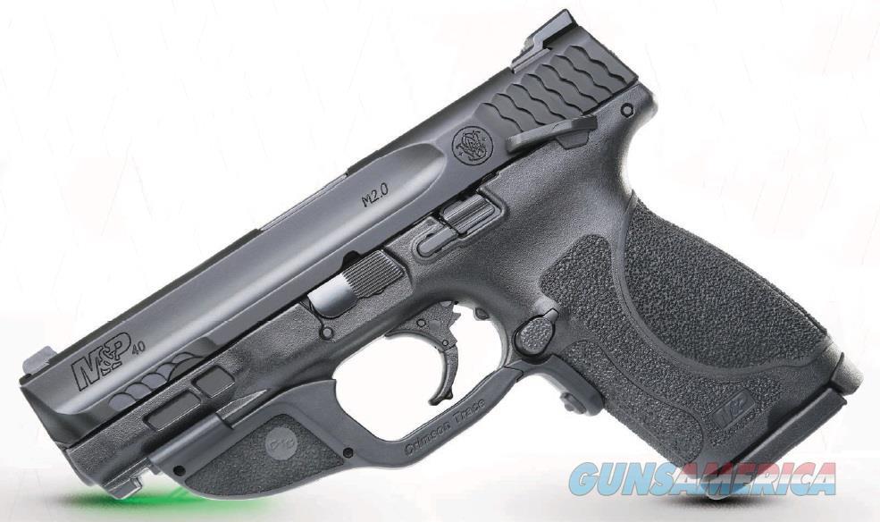 """Smith & Wesson 12416 M&P 40 M2.0 Compact Crimson Trace Laserguard 40 S&W Double 4"""" 13+1 Black  Guns > Pistols > S Misc Pistols"""