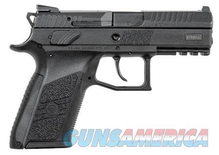"CZ 91086 P-07 Compact 9mm Luger Single/Double 3.80"" 15+1 Black Polymer Grip/Frame Black Slide  Guns > Pistols > CZ Pistols"