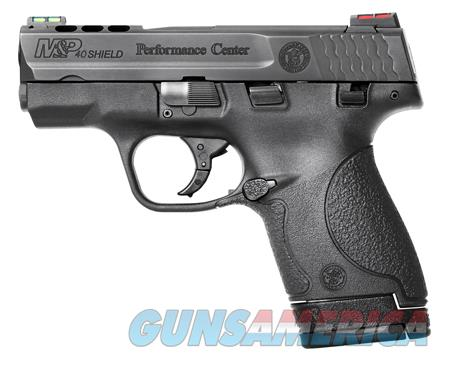 """Smith & Wesson 10109 M&P 40 Shield Double 40 Smith & Wesson (S&W) 3.1"""" Ported 6+1/7+1 (Grip  Guns > Pistols > Smith & Wesson Pistols - Autos > Shield"""