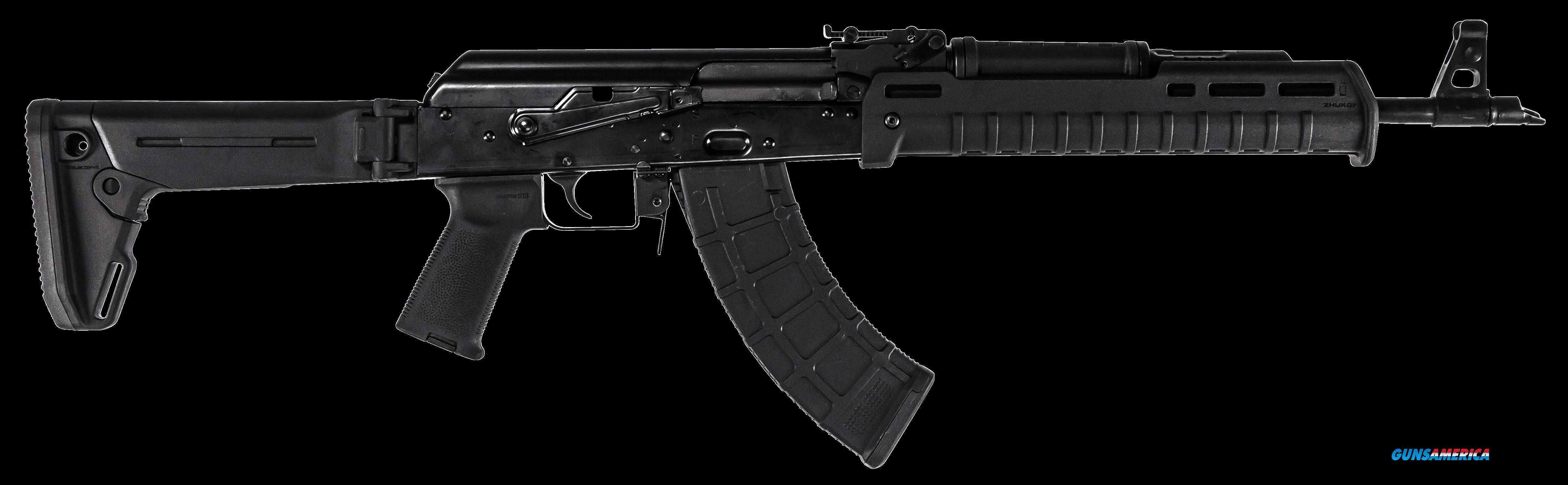 "Red Army Standard RI2405N RAS47 Zhukov Semi-Automatic 7.62x39mm 16.5"" MB 10+1 Magpul Zhukov-S Black  Guns > Rifles > R Misc Rifles"