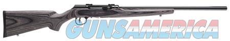 "Savage 47006 A17 Target Sporter Semi-Automatic 17 HMR 22"" 10+1 Laminate Gray Stk Case Hardened  Guns > Rifles > Savage Rifles > Rimfire"