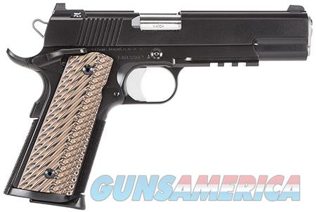 "Dan Wesson 01992 Specialist   45 ACP Single/Double 5"" 8+1 Brown VZ Operator II G10 Grip Black  Guns > Pistols > Dan Wesson Pistols/Revolvers > 1911 Style"