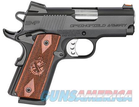 "Springfield Armory PI9208L 1911 EMP Champion  9mm Luger Single 3"" 9+1 Cocobolo Grip Black Hardcoat  Guns > Pistols > S Misc Pistols"