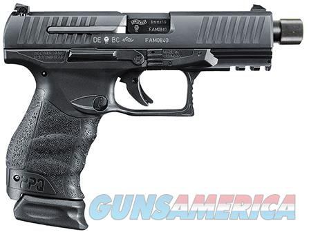 """Walther Arms 2796082 PPQ M2 SD  9mm Luger Double 4.6"""" 15 & 15+2 Black Polymer Grip/Frame Grip Black  Guns > Pistols > Walther Pistols > Post WWII > P99/PPQ"""