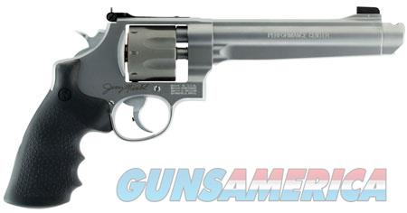 """Smith & Wesson 170341 929 Performance Center  9mm Luger 8 Round 6.50"""" Stainless Steel Black  Guns > Pistols > Smith & Wesson Revolvers > Full Frame Revolver"""