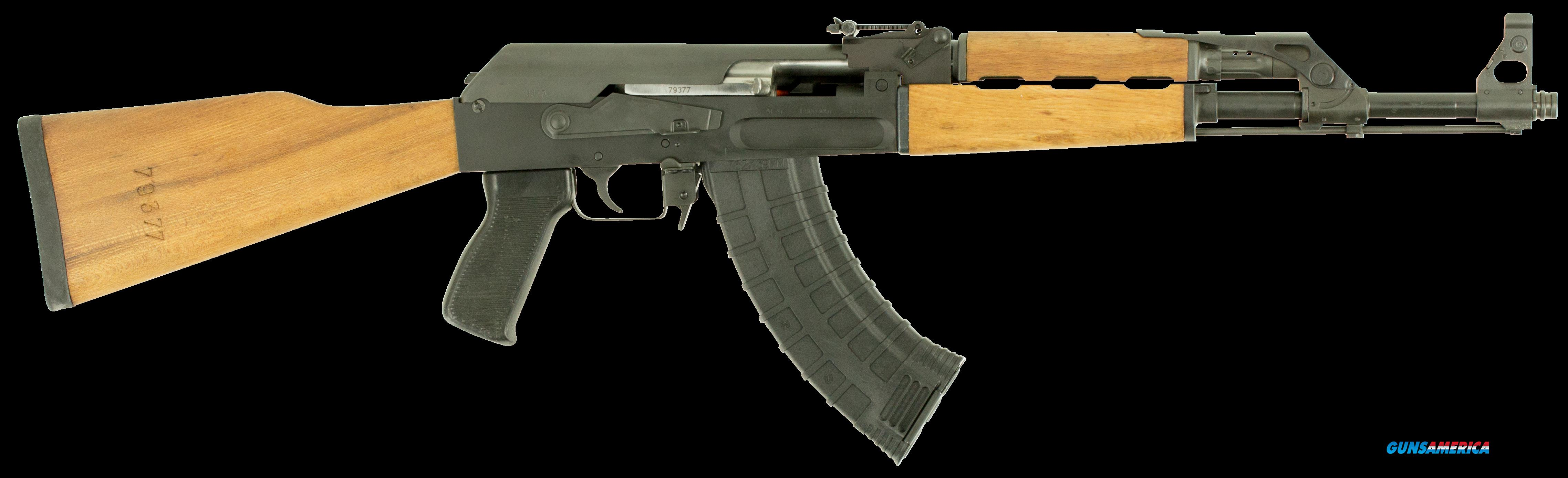 "ATI GAT47FSM AT47 Gen 2 Semi-Automatic 7.62x39mm 16"" 30+1 Wood Stk Black Parkerized  Guns > Pistols > American Tactical Imports Pistols"