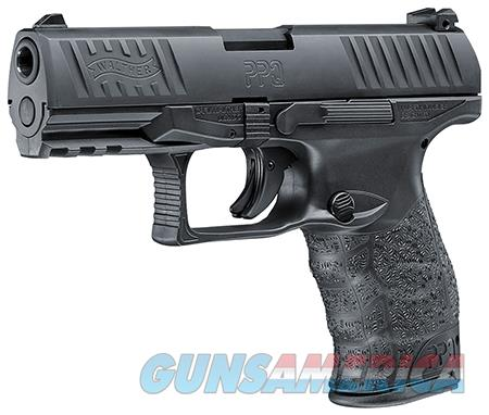 """Walther Arms 2796067 PPQ M2  9mm Luger Double 4"""" 10+1 Black Polymer Grip/Frame Grip Black Tenifer  Guns > Pistols > Walther Pistols > Post WWII > P99/PPQ"""