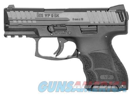 "HK 700009KA5 VP9 SK  9mm Luger Double 3.39"" 10+1 Black Interchangeable Backstrap Grip Black Slide  Guns > Pistols > H Misc Pistols"