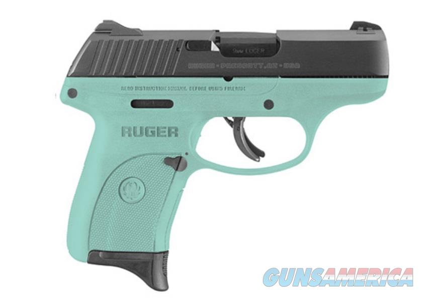 Ruger LC9S 9MM BL/TURQUOISE 7+1 AS 3262|TURQUOISE CERAKOTE FRAME  Guns > Pistols > Ruger Semi-Auto Pistols > LC9