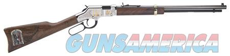 "Henry H004MAS Golden Boy Freemasons Tribute 22 Short,Long,LR 16 LR/21 Short 20"" Nickel Plated  Guns > Rifles > Henry Rifles - Replica"