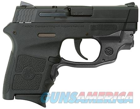 "Smith & Wesson 10178 M&P 380 Bodyguard Crimson Trace Laserguard 380 ACP 2.75"" 6+1 Black Stainless  Guns > Pistols > Smith & Wesson Pistols - Autos > Polymer Frame"