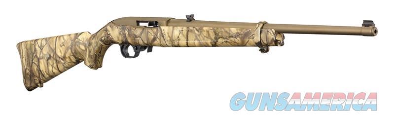Ruger 10/22 22LR BRONZE/GO WILD CAMO 31109  Guns > Rifles > R Misc Rifles