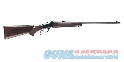 "Winchester Guns 524100170 1885 Hunter Falling Block 17 HMR 24"" 1 Walnut Oil Finish Stk Blued High  Guns > Rifles > Winchester Replica Rifle Misc."
