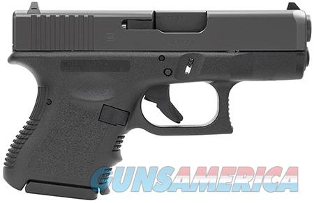 "Glock PI3350201 G33 Standard Double 357 Sig 3.42"" 9+1 Black Polymer Grip/Frame Grip Black  Guns > Pistols > Glock Pistols > 31/32/33"
