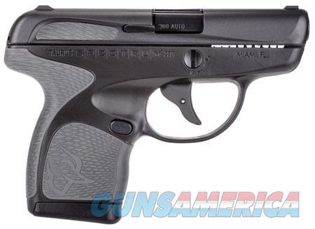 "Taurus 1007031102 Spectrum  380 Automatic Colt Pistol (ACP) Double 2.8"" 6+1/7+1 Black Polymer Frame  Guns > Pistols > TU Misc Pistols"