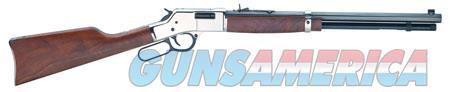 "Henry H006S Big Boy Silver  Lever 44 Remington Magnum 20"" 10+1 American Walnut Stk Silver  Guns > Rifles > Henry Rifles - Replica"