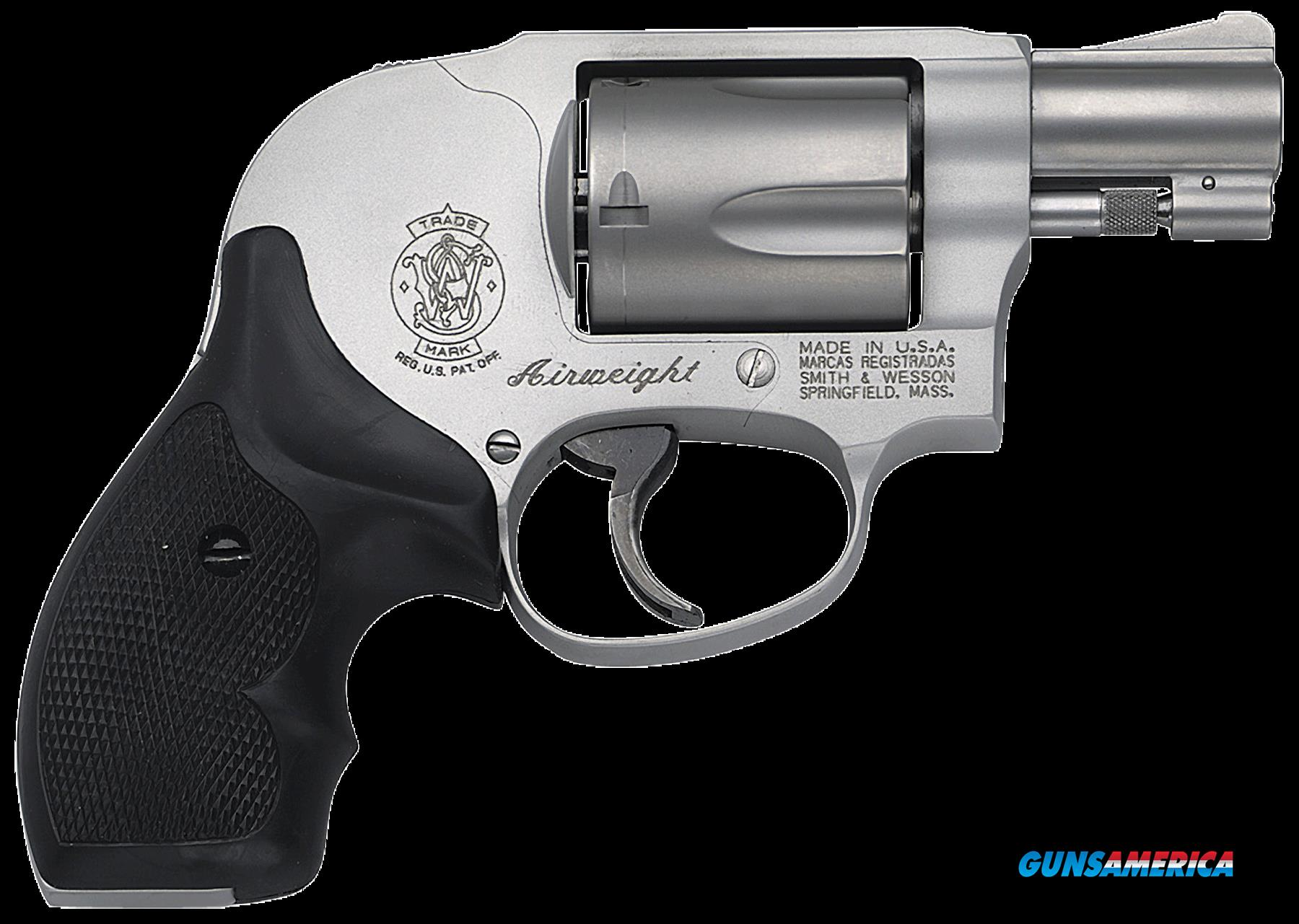 "Smith & Wesson 163070 638 Airweight Single/Double 38 Special 1.875"" 5 Black Synthetic Stainless  Guns > Pistols > S Misc Pistols"