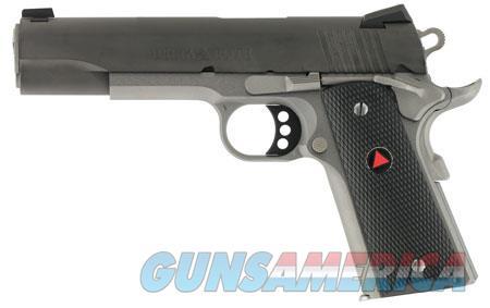 "Colt Mfg O2020XETT 1911 Delta Elite 10mm Auto 5"" 8+1 Stainless Steel Black Black Polymer Delta  Guns > Pistols > C Misc Pistols"