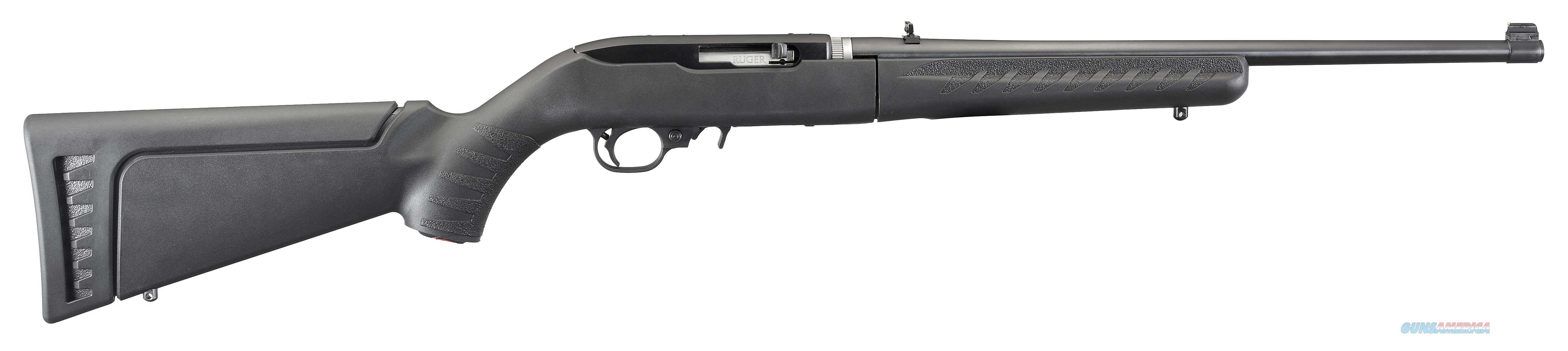 Ruger 21115 10/22 Takedown Semi-Automatic 22 Long Rifle (LR)  10+1 Synthetic Black Stk Blued  Guns > Rifles > R Misc Rifles