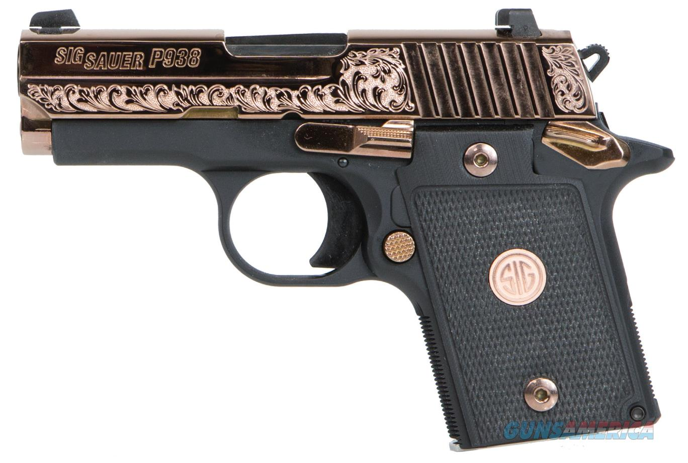 Rose Auto Sales >> SIG SAUER P938 9MM ROSE GOLD/G10 AMBI 938-9-ERG... for sale