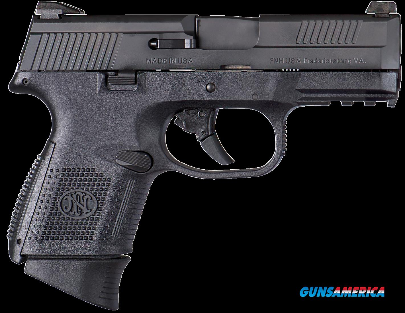 "FN 66721 FNS Double 40 Smith & Wesson (S&W) 3.6"" 14+1 Black Polymer Grip Black  Guns > Pistols > F Misc Pistols"