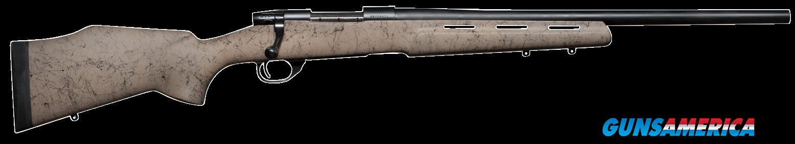 "Weatherby VDN223RR2O Vanguard H-BAR RC Bolt 223 Remington 22"" 5+1 Synthetic Tan w/Black Spiderweb  Guns > Rifles > W Misc Rifles"