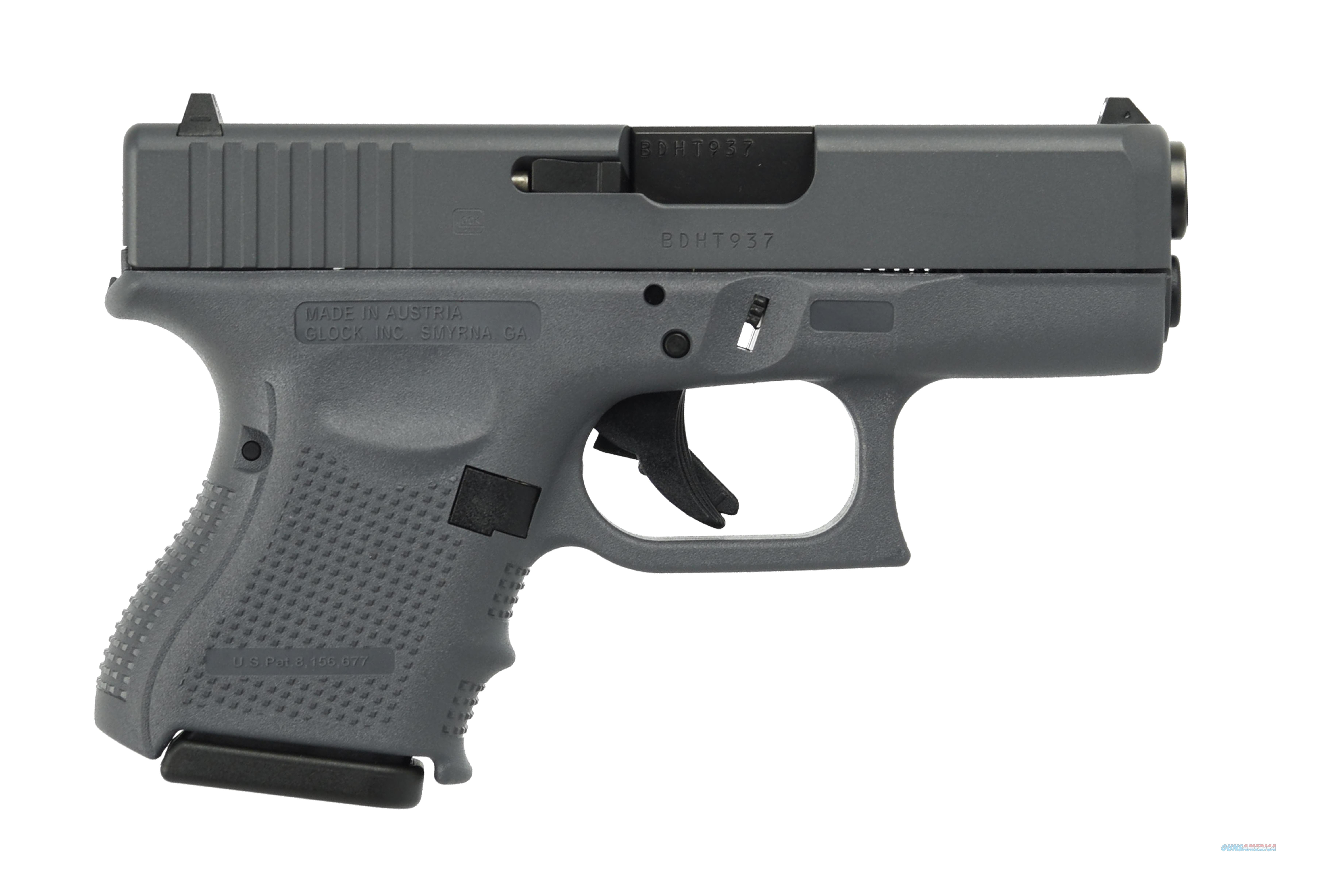 GLOCK G26 G4 FULL GRAY 9MM 10+1 FS 3-10RD MAGS | FIXED SIGHTS  Guns > Pistols > Glock Pistols > 26/27