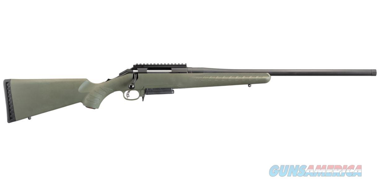 "Ruger 26974 American Predator Bolt 308 Winchester/7.62 NATO 18"" 3+1 Synthetic Moss Green Stk Black  Guns > Rifles > R Misc Rifles"