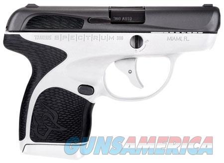 "Taurus 1007031301 Spectrum  380 Automatic Colt Pistol (ACP) Double 2.80"" 6+1/7+1 White Polymer Frame  Guns > Pistols > TU Misc Pistols"
