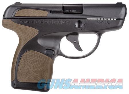 "Taurus S007031119 Spectrum  380 Automatic Colt Pistol (ACP) Double 2.8"" 6+1/7+1 Black Polymer Frame  Guns > Pistols > TU Misc Pistols"