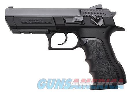 "IWI US J941PL9 Jericho 941 PL9 9mm Luger SA/DA 4.40"" 16+1 Black Polymer Grip Black Slide  Guns > Pistols > IWI Pistols"
