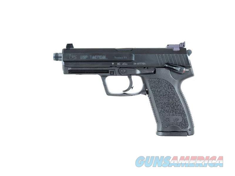 Heckler and Koch (HK USA) USP9 TCTCL 9MM 4.86 15+1 NS 315RD MAGS|NIGHT STS|THD BBL  Guns > Pistols > H Misc Pistols