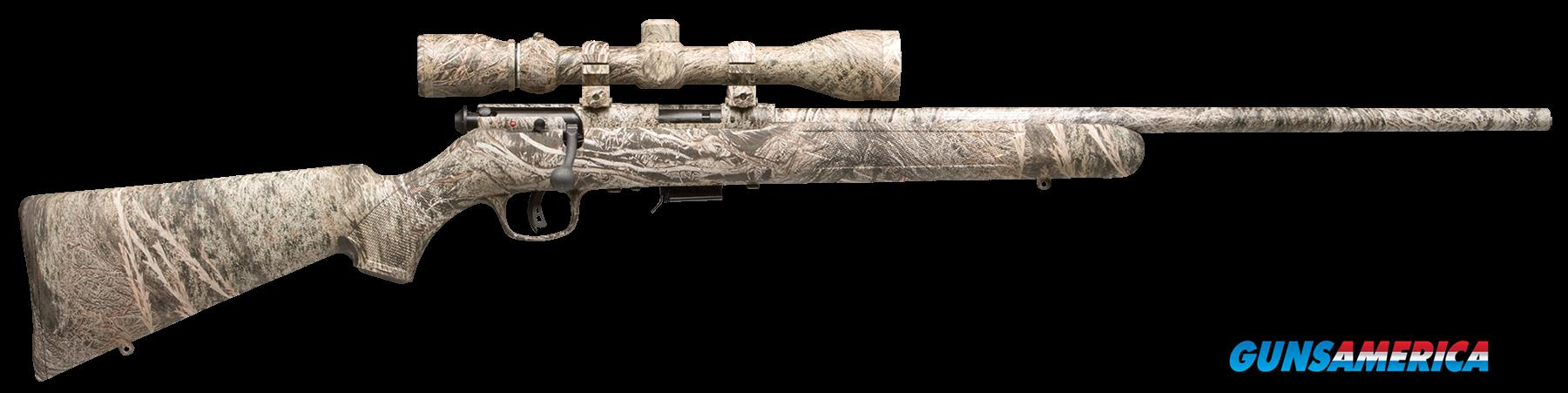 "Savage 96765 93R17 XP Camo Brush with Scope Bolt 17 HMR 22"" 5+1 Synthetic Mossy Oak Brush Stk Mossy  Guns > Rifles > S Misc Rifles"
