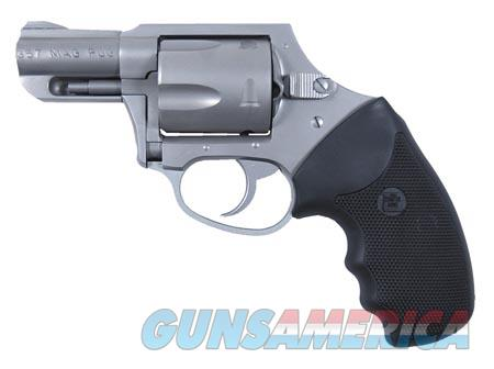 "Charter Arms 73521 Mag Pug  Revolver Double 357 Magnum 2.20"" 5 Rd Black Rubber Grip Stainless  Guns > Pistols > Charter Arms Revolvers"