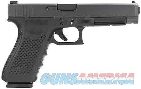 "Glock PG4130103 G41 Gen 4 45 ACP Double 5.31"" 13+1 Black Interchangeable Backstrap Grip Black Slide  Guns > Pistols > Glock Pistols > 41"