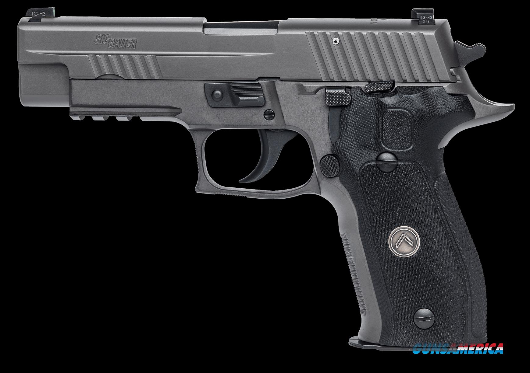 "Sig Sauer E26R357LEGIO P226 Full Size Legion Single/Double 357 Sig 4.4"" 12+1 Black G10 Grip Gray PVD  Guns > Pistols > Sig - Sauer/Sigarms Pistols > P226"