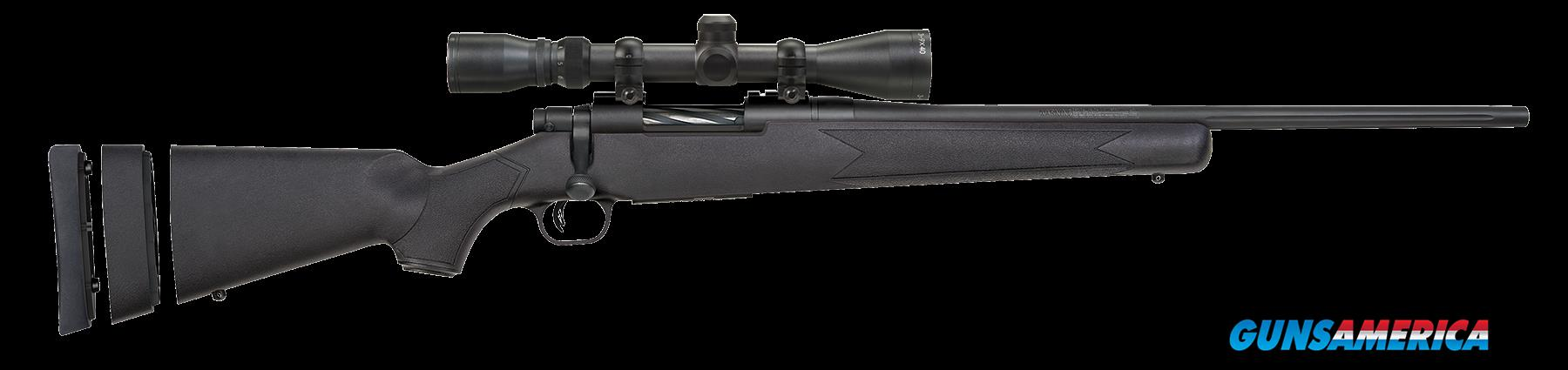 "Mossberg 27853 Patriot Youth with Scope Bolt 7mm-08 Rem 20"" 5+1 Synthetic Black Stk Blued  Guns > Rifles > Mossberg Rifles > Other Bolt Action"