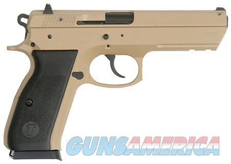 "TriStar 85096 T-120 Aluminum Single/Double 9mm Luger 4.7"" 17+1 Black Polymer Grip Desert Tan  Guns > Pistols > Tristar"