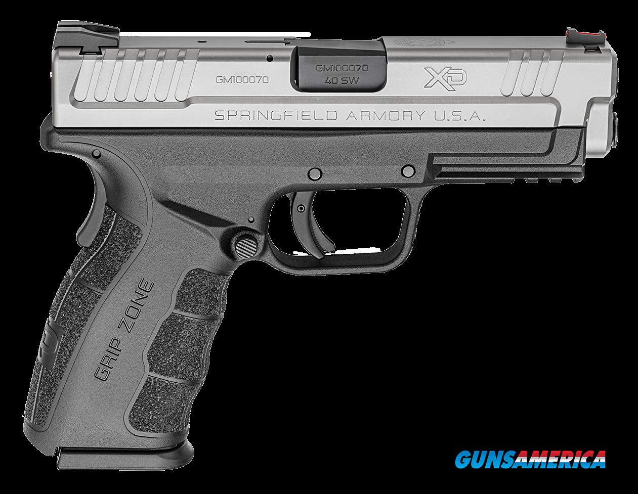 "Springfield Armory XDG9302 XD Mod.2 Service Double 40 S&W 4"" 10+1 Black Polymer Grip/Frame Grip  Guns > Pistols > S Misc Pistols"