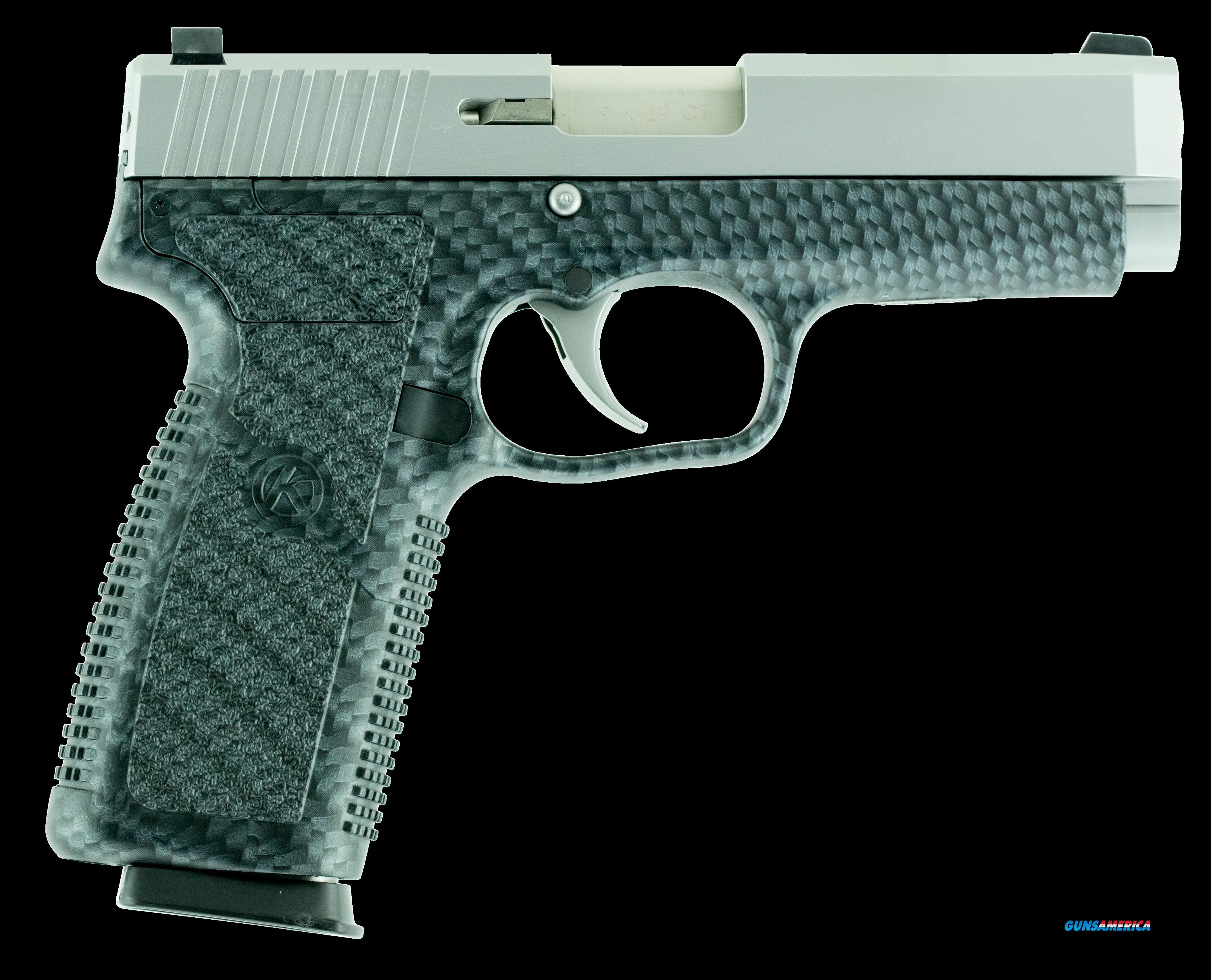 "Kahr Arms CT9093BCF CT9 Double 9mm 3.6"" 7+1 Black Polymer Grip Stainless Steel  Guns > Pistols > K Misc Pistols"