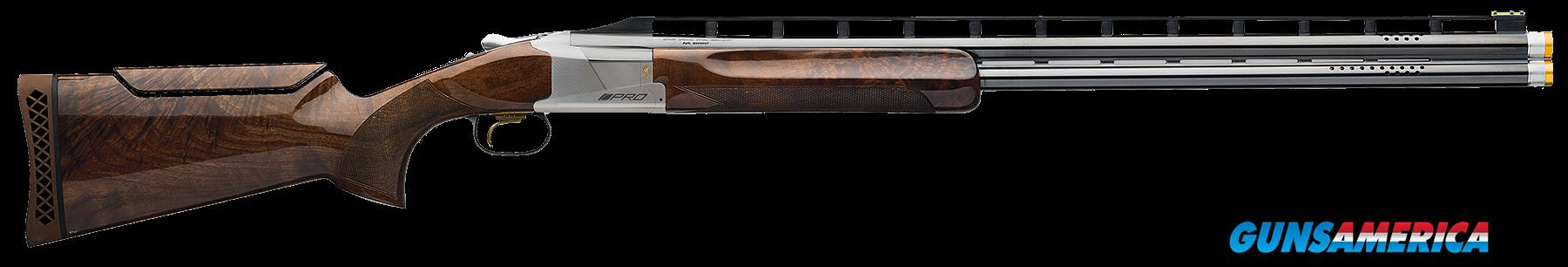"Browning 0180033010 725 Citori Pro Trap O/U 12 Gauge 30"" 2.75"" Blk Walnut Stock  Guns > Shotguns > B Misc Shotguns"