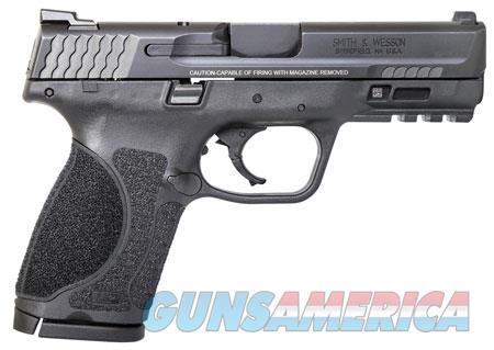 """Smith & Wesson 11683 M&P 9 M2.0 Compact  9mm Luger Double 4"""" 15+1 Black Interchangeable Backstrap  Guns > Pistols > S Misc Pistols"""