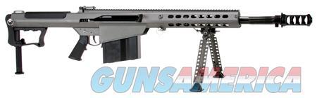 """Barrett 14552 M107 A1 Semi-Automatic 50 Browning Machine Gun (BMG) 20"""" 10+1 Fixed Metal Gray Stk  Guns > Rifles > Barrett Rifles"""