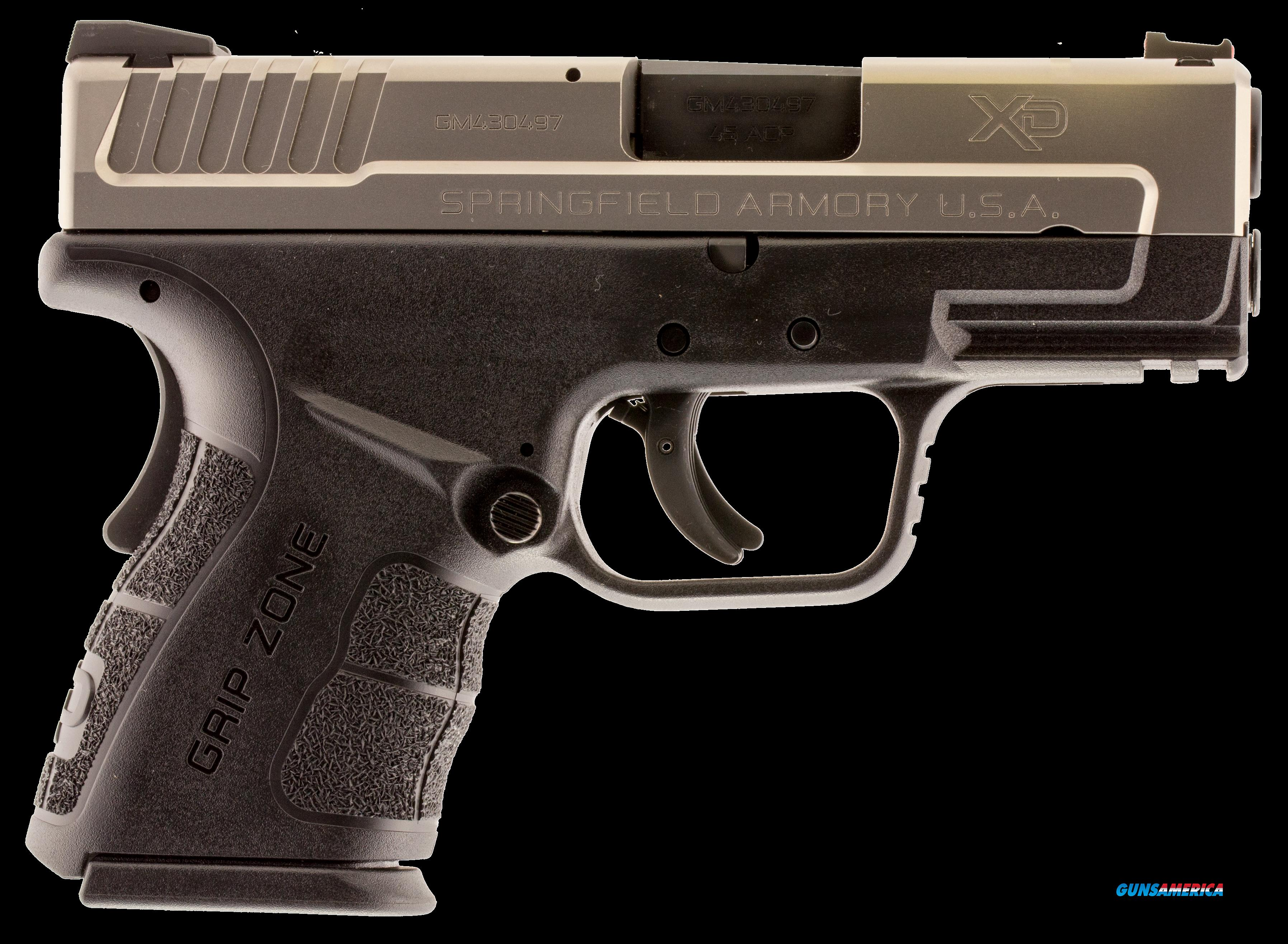 "Springfield Armory XDG9845S XD Mod.2 Sub-Compact Double 45 ACP 3.3"" 10+1 Black Polymer Grip  Guns > Pistols > S Misc Pistols"