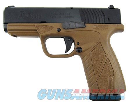 "Bersa BP9DECC BPCC Concealed Carry 9mm Luger 3.30"" 8+1 Flat Dark Earth Black Steel Slide Flat Dark  Guns > Pistols > Bersa Pistols"