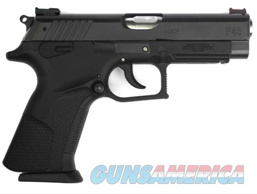 Grand Power GRAND POWER P45 45ACP BL 4.25 ROTATING BARREL MECHANISM  Guns > Pistols > G Misc Pistols